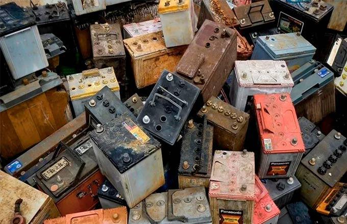 Уникальный процесс переработки металлов из аккумуляторов и батарей