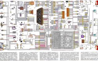 Эл схема ваз 2110 инжектор