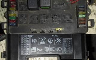 Блок предохранителей ваз 2114 инжектор схема