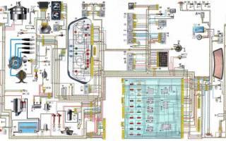 Электрическая схема ваз 2110 инжектор 8 клапанов