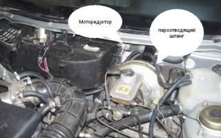 Замена моторедуктора печки ваз 2110 нового образца