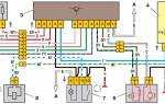 Схема подключения патрубков печки ваз 2110