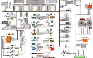 Двигатель ваз 2114 инжектор 8 клапанов схема