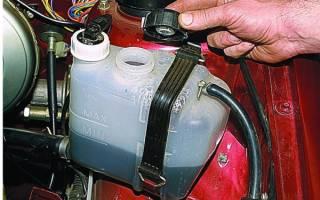 Как заменить охлаждающую жидкость на ваз 2114