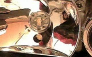 Как снять стекло с фары ваз 2110