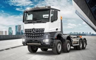 Mercedes-Benz Arocs: новая сила в строительстве