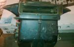 Ремонт печки ваз 21099 высокая панель
